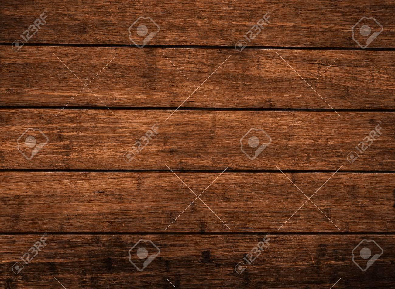 brun fonce panneau de planche de bois pour mur et sol