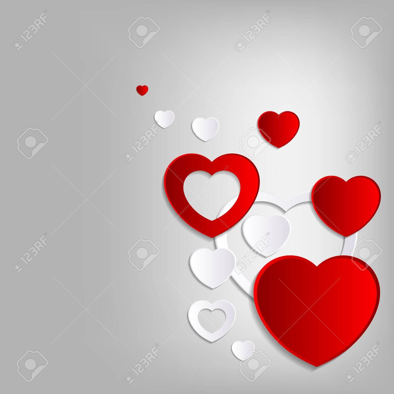 lovely heart background