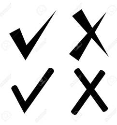 check mark and wrong mark stock vector 75182331 [ 1300 x 1300 Pixel ]