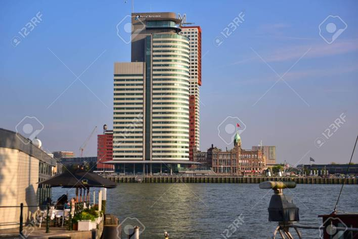 ROTTERDAM - SEPTEMBER 17: World Port Center, A 33-storey Skyscraper.. Stock  Photo, Picture And Royalty Free Image. Image 35660464.