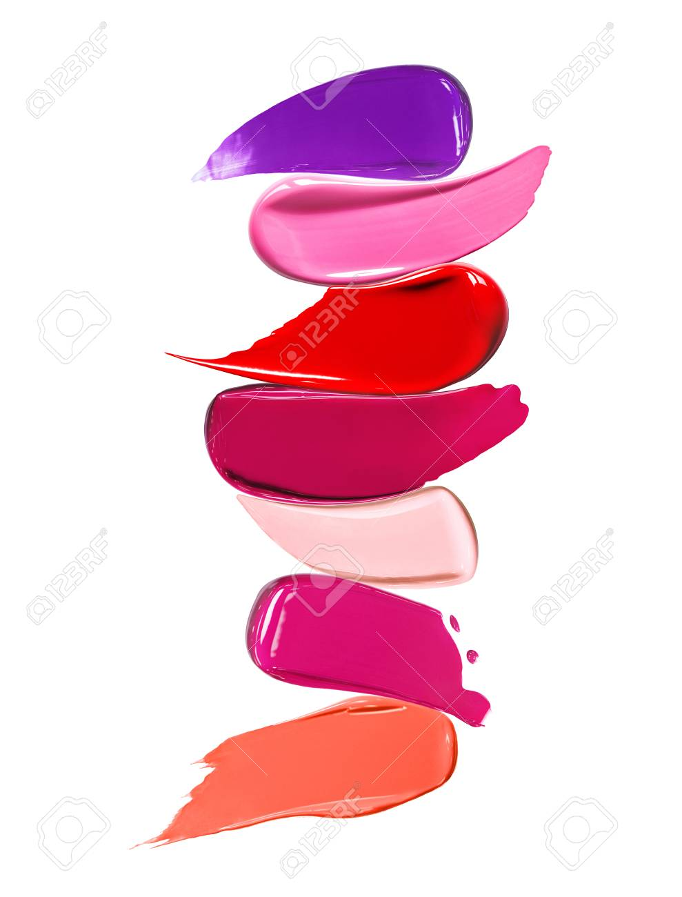 liquid lipstick shades on