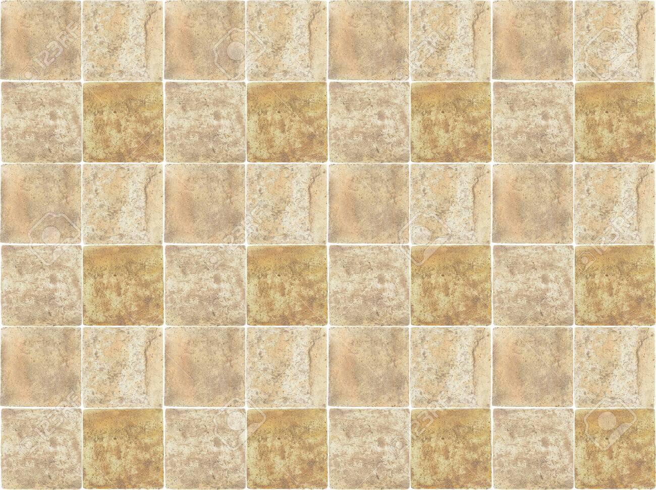 dirty brown ceramic floor tile texture background