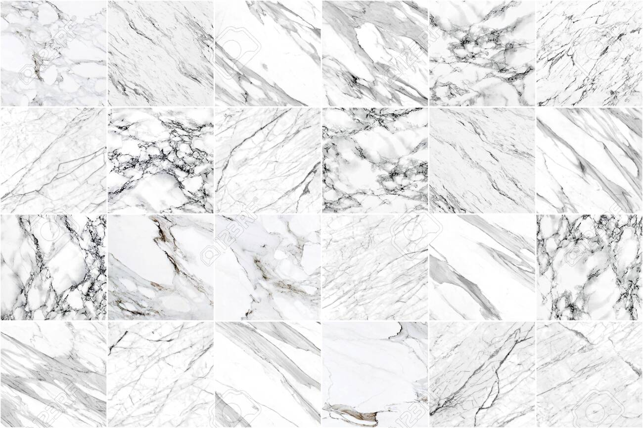 white and black marble wall tile texture background square marble
