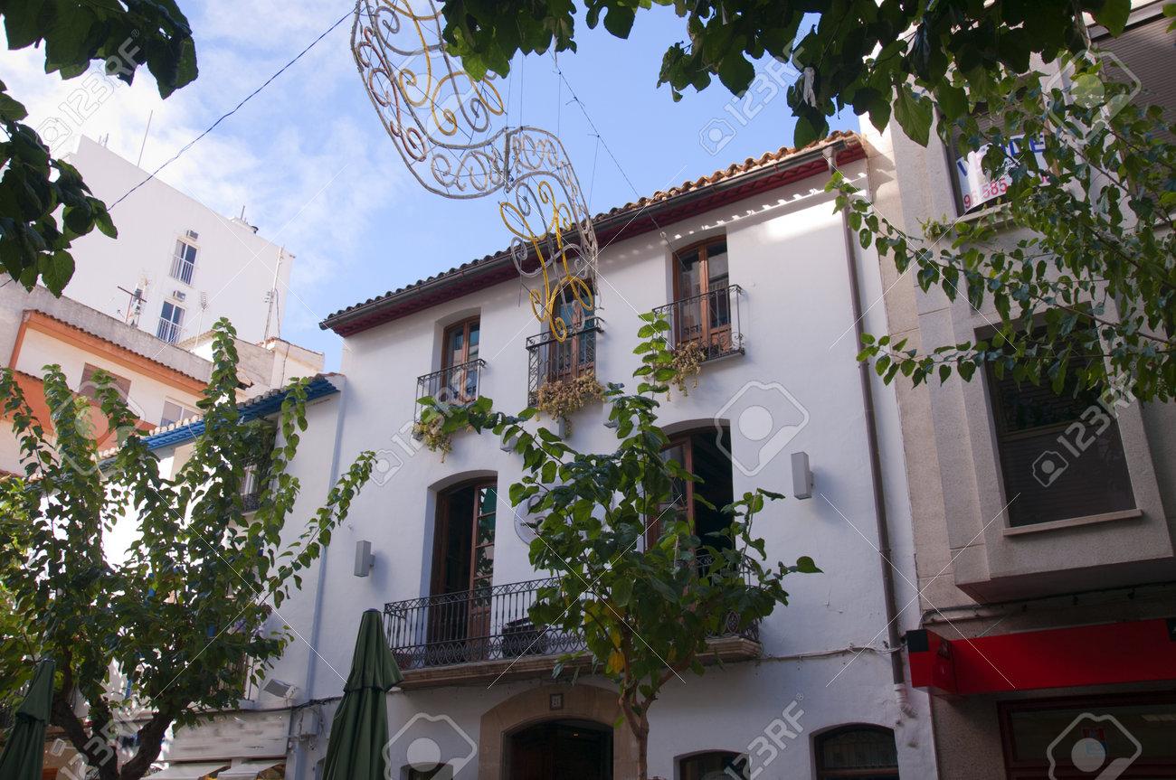 Hotel In The Old Town Of Benidorm Costa Blanca Spain