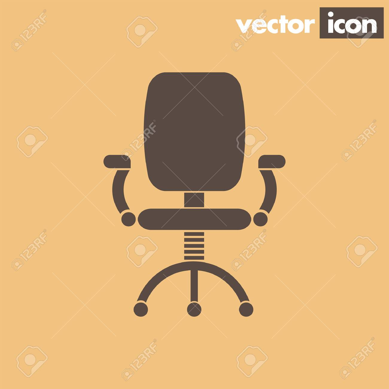 office chair vector kd smart owner s manual icon royalty free cliparts vectors and stock 38008093