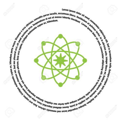 small resolution of atom model vector icon stock vector 40759766