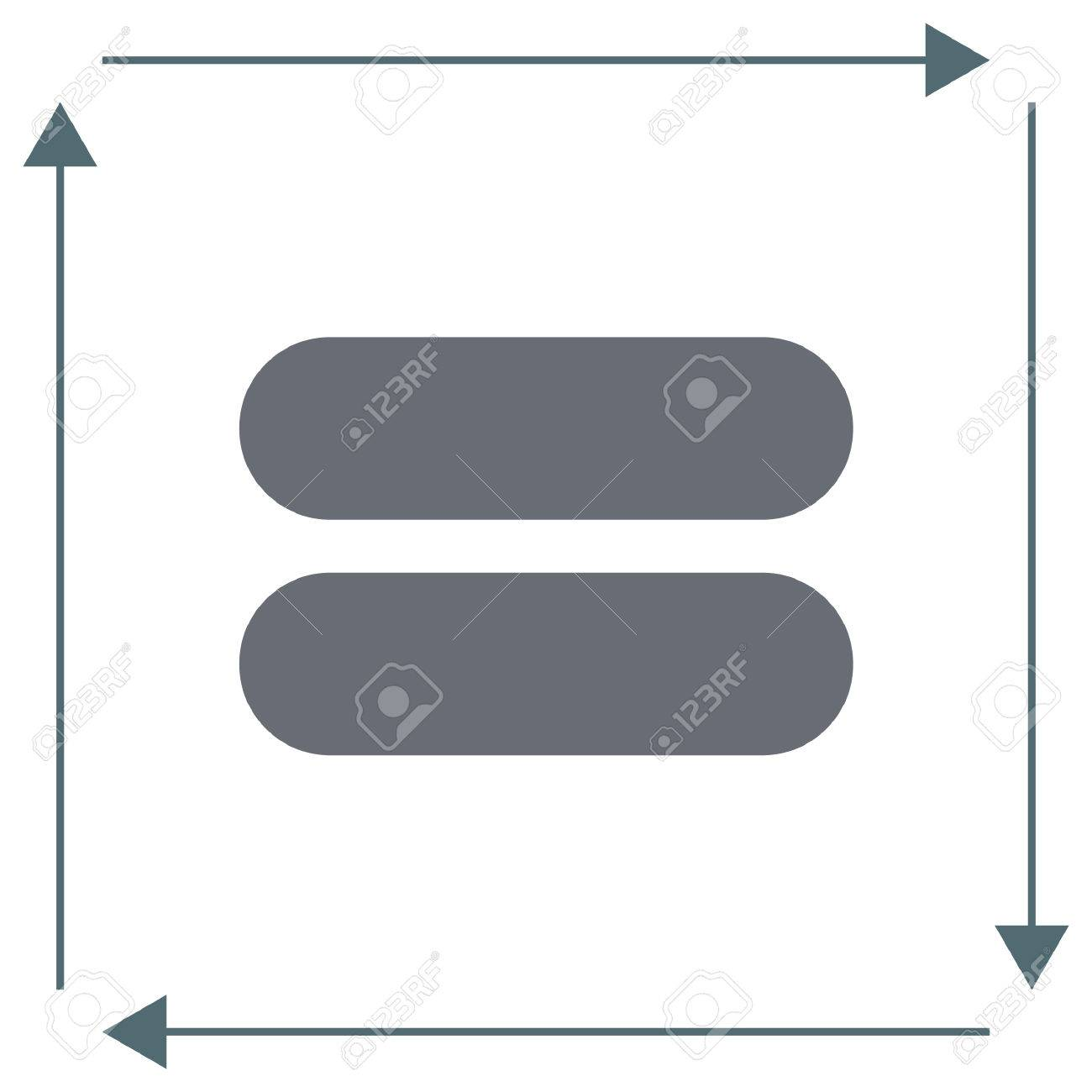 hight resolution of equal sign vector icon equality sign mathematical sum symbol