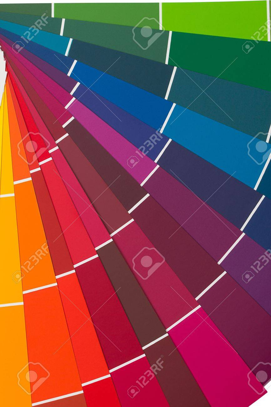 Detail Of RAL Color Chart Stock Photo, Picture And Royalty Free ...