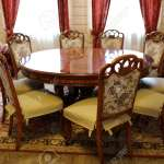 View Of Round Dining Table In Chinese Restaurant Stock Photo Picture And Royalty Free Image Image 118482547