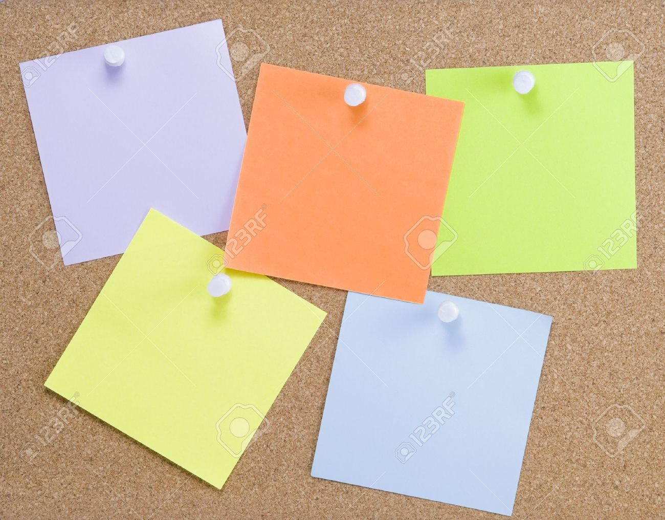 colorful sticky notes attached