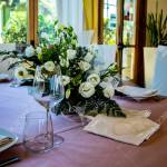 Table Set For A Ceremony In An Italian Restaurant Celebrations Stock Photo Picture And Royalty Free Image Image 152668880