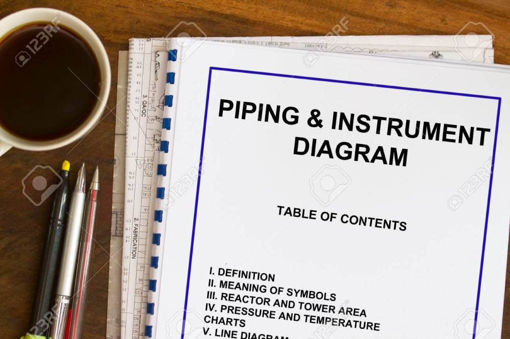 medium resolution of piping instrument and diagram abstract with blueprints stock photo 22931119