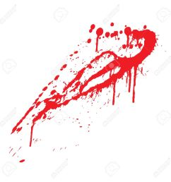 blood splatter vector illustration stock vector 4743742 [ 1300 x 1300 Pixel ]