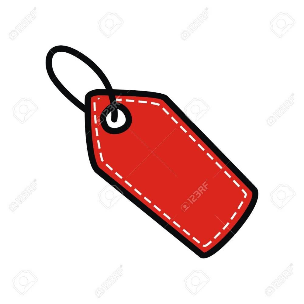 medium resolution of price tag clip art vector stock vector 67647023