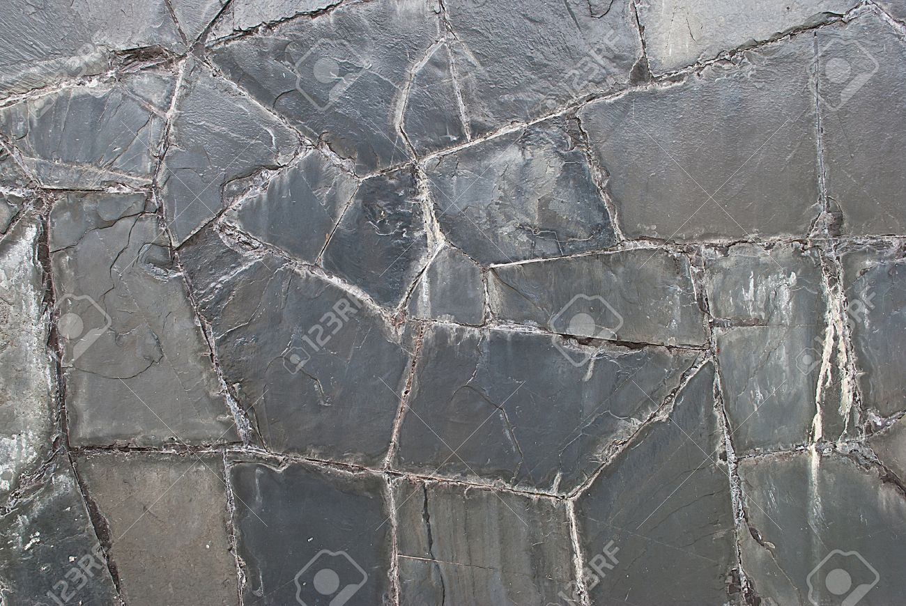 natural slate tile wall texture or background