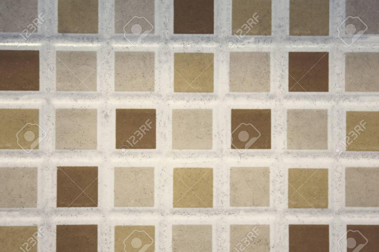 Fond De Plancher De Carrelage Petits Carreaux Colores Carres Sur Le Mur De La Salle De Bain Banque D Images Et Photos Libres De Droits Image 73166561