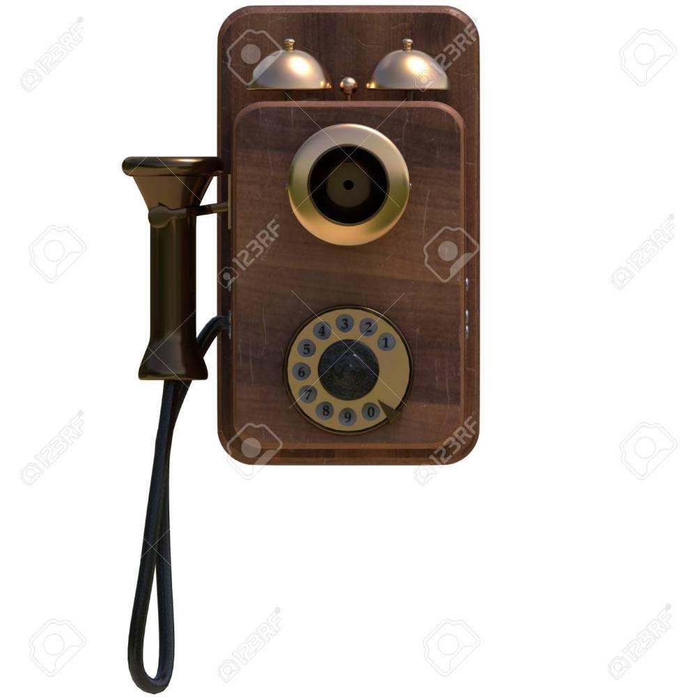 medium resolution of old antique phone stock photo 71929572