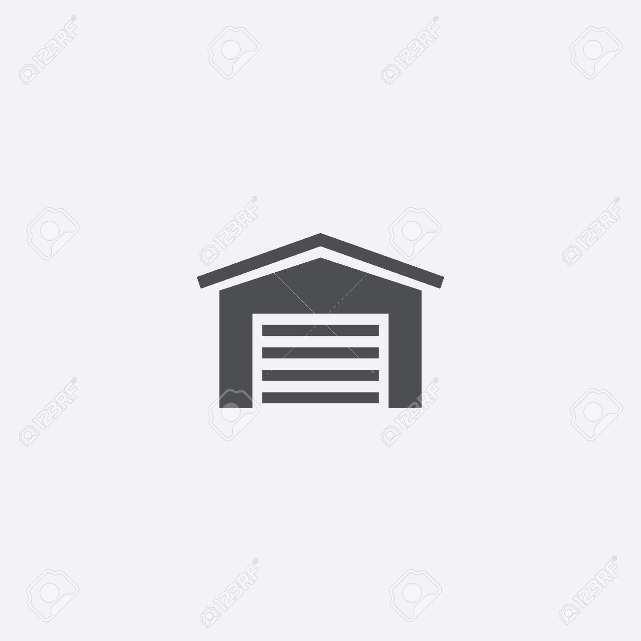 Car Garage Icon Royalty Free Cliparts Vectors And Stock Illustration Image 143059456