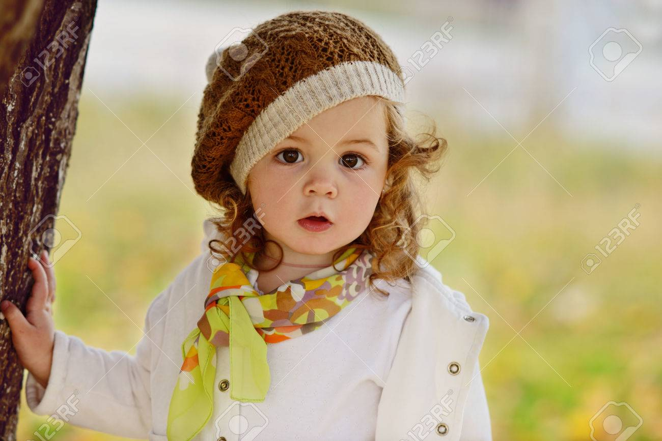 cute baby girl in