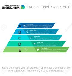 five stages pyramid diagram element of presentation step diagram chart concept for [ 1300 x 1300 Pixel ]