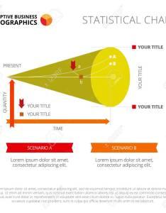 Line chart slide template business data graph diagram design creative concept also rh rf