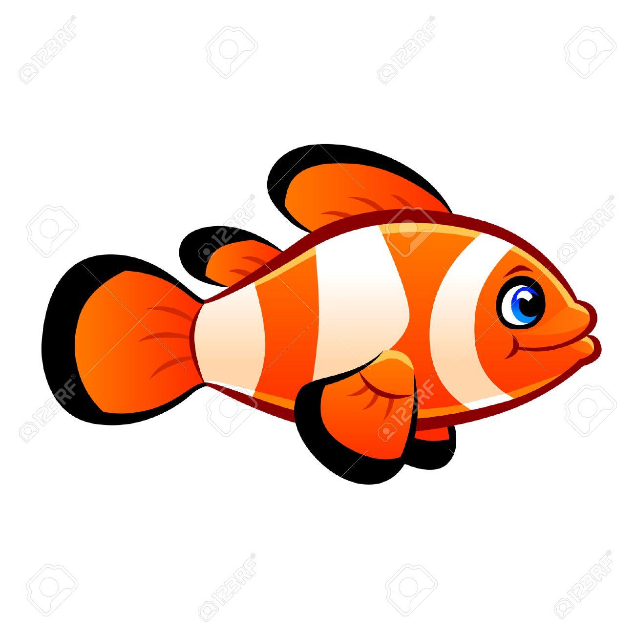 hight resolution of clownfish stock vector 29543892