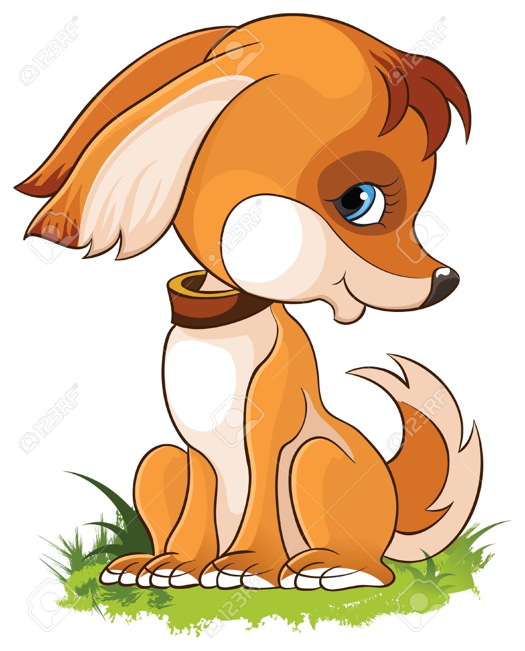 Cartoon Puppy Pictures : cartoon, puppy, pictures, Illustration, Cartoon, Puppy, Isolated, White, Background, Royalty, Cliparts,, Vectors,, Stock, Illustration., Image, 13697527.