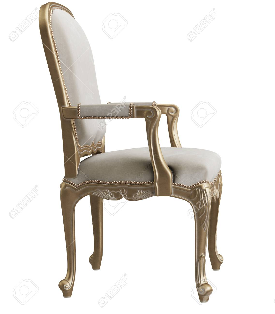 Classic Chair Stock Illustration
