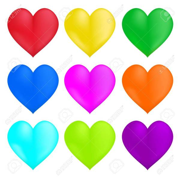 hearts colors # 1