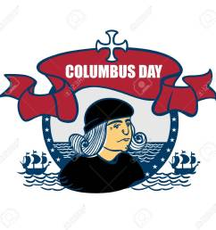 portrait of christopher columbus a stylized drawing of a hand the celebration of columbus [ 1300 x 1274 Pixel ]