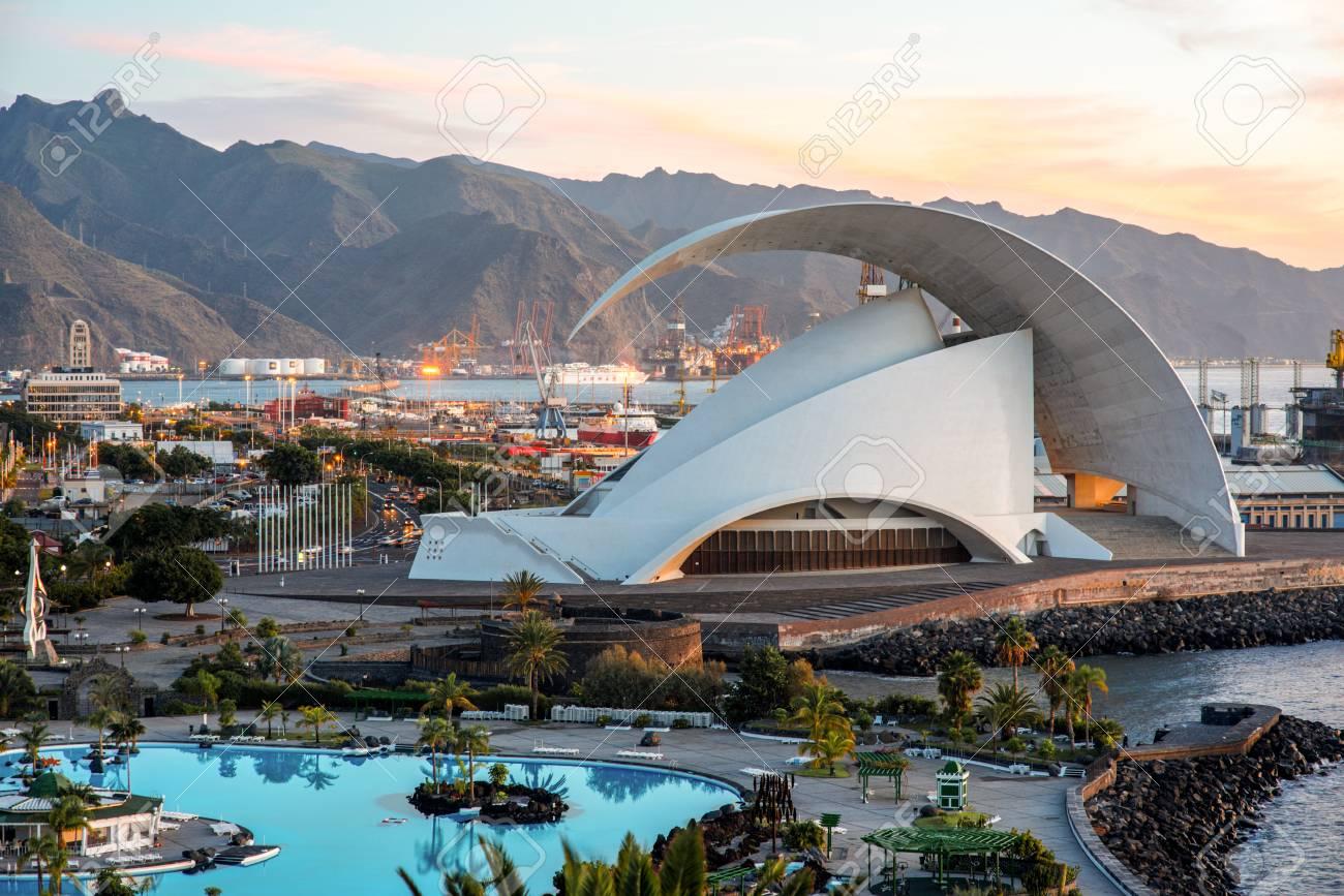 Santa Cruz De Tenerife Spain December 17 2015 Auditorio