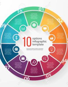 Business pie chart template for graphs charts diagrams circle infographic concept with also rh rf