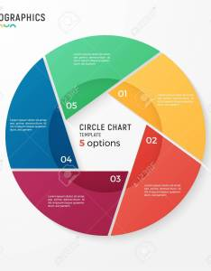 Vector circle chart infographic template for data visualization also rh rf