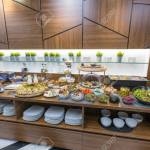 Buffet Table Breakfast In Hotel Restaurant Stock Photo Picture And Royalty Free Image Image 129554835