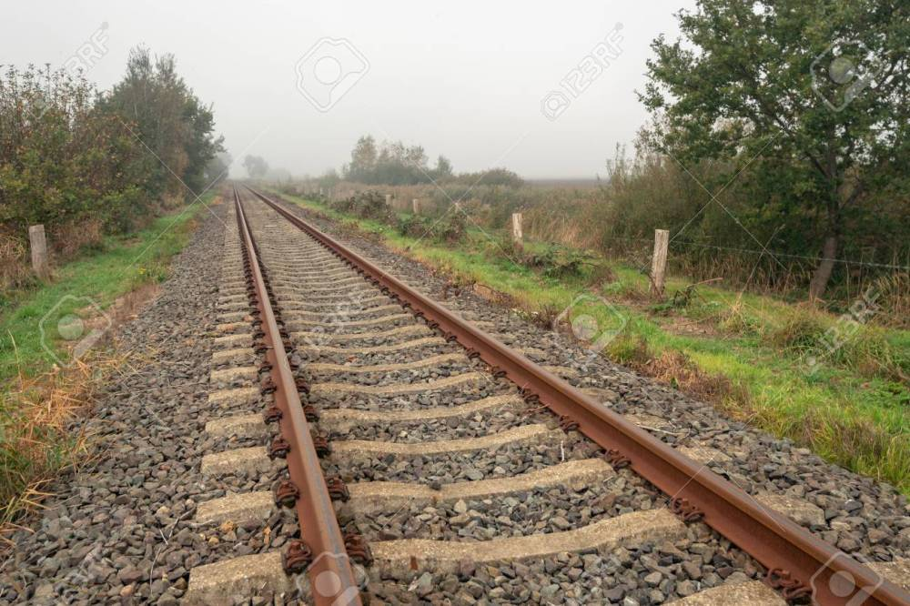 medium resolution of single track wiring model train wiring diagram database rusty single track train tracks through a rural