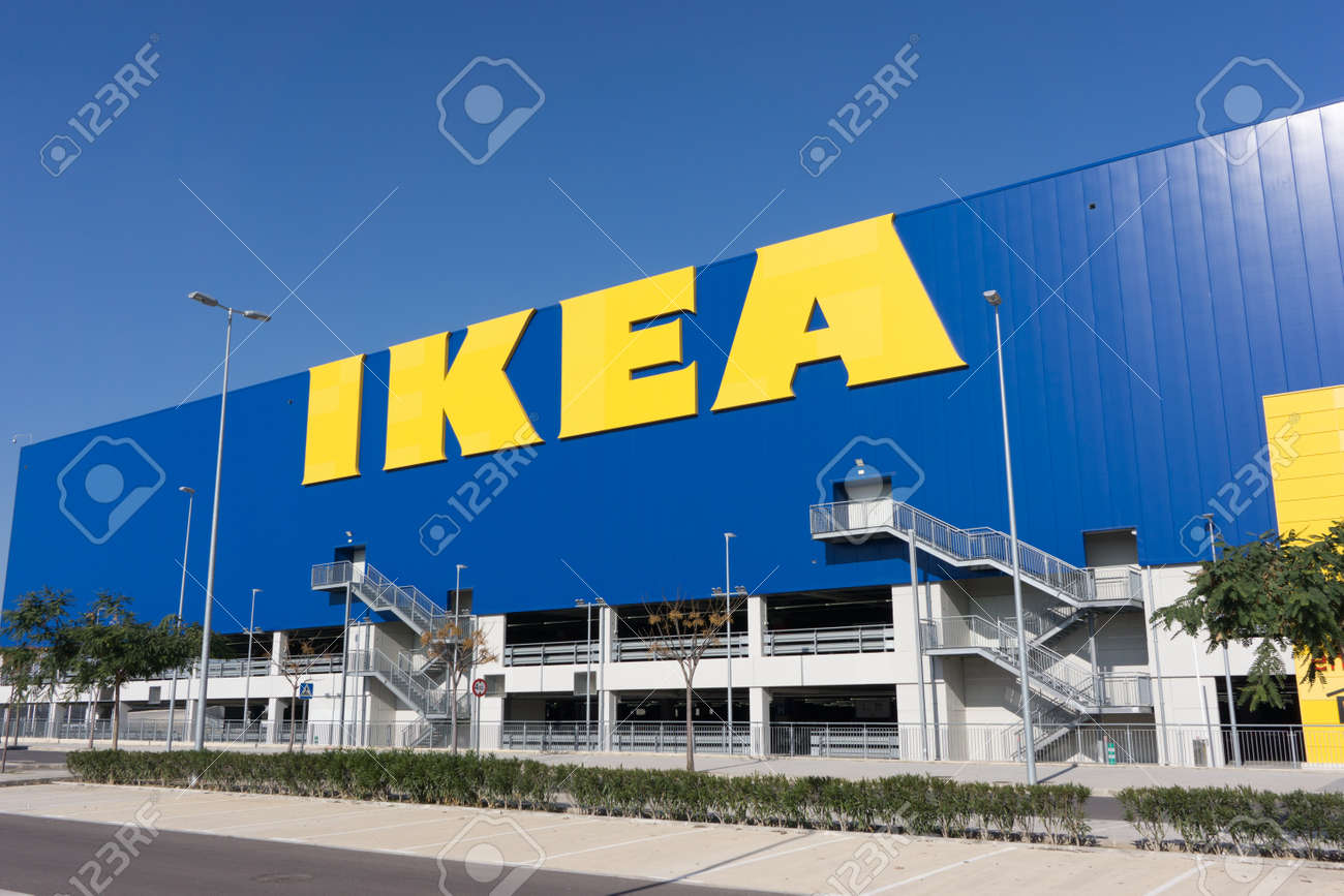 Valencia Spain December 30 2016 An Ikea Home Furnishings