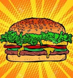 archivio fotografico fast food burger hamburger [ 1300 x 866 Pixel ]
