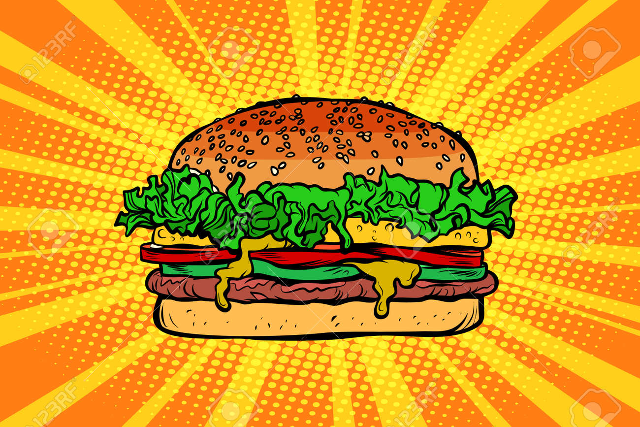 hight resolution of archivio fotografico fast food burger hamburger