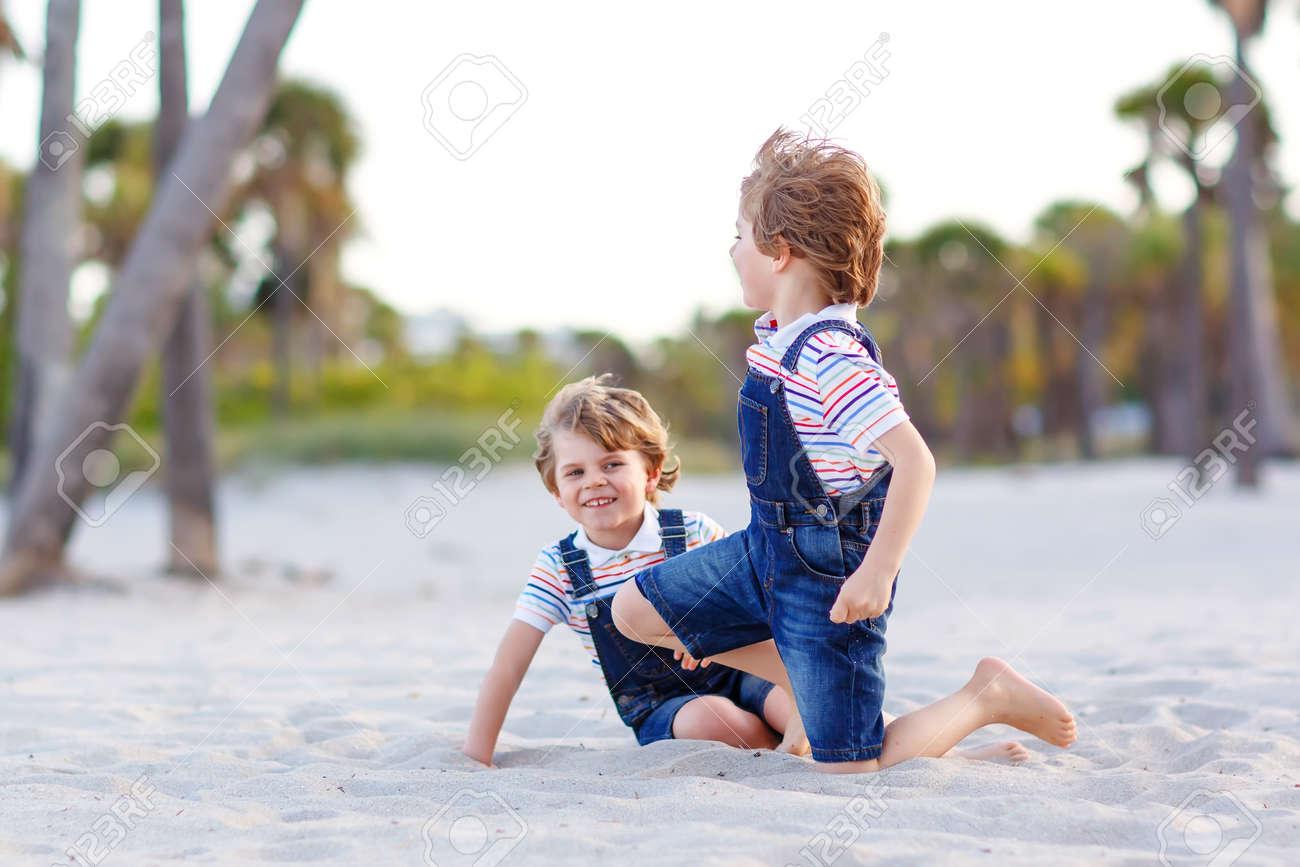 two little kids boys