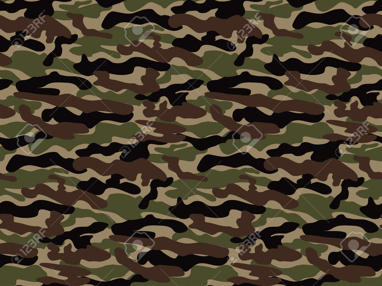 abstract vector military camouflage
