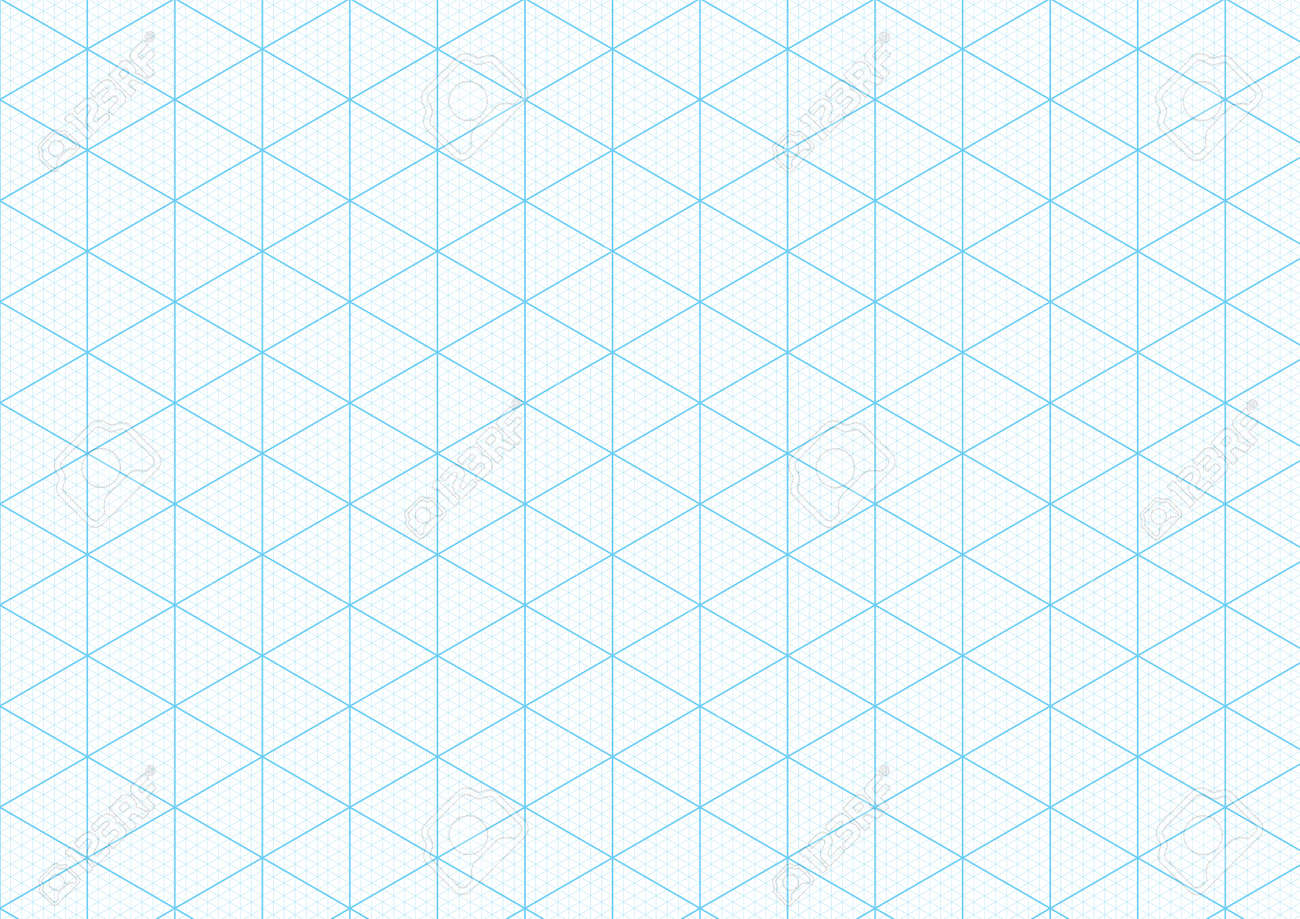 Isometric Graph Paper Background With Plotting Triangular And Royalty Free Cliparts Vectors And Stock Illustration Image 89174064
