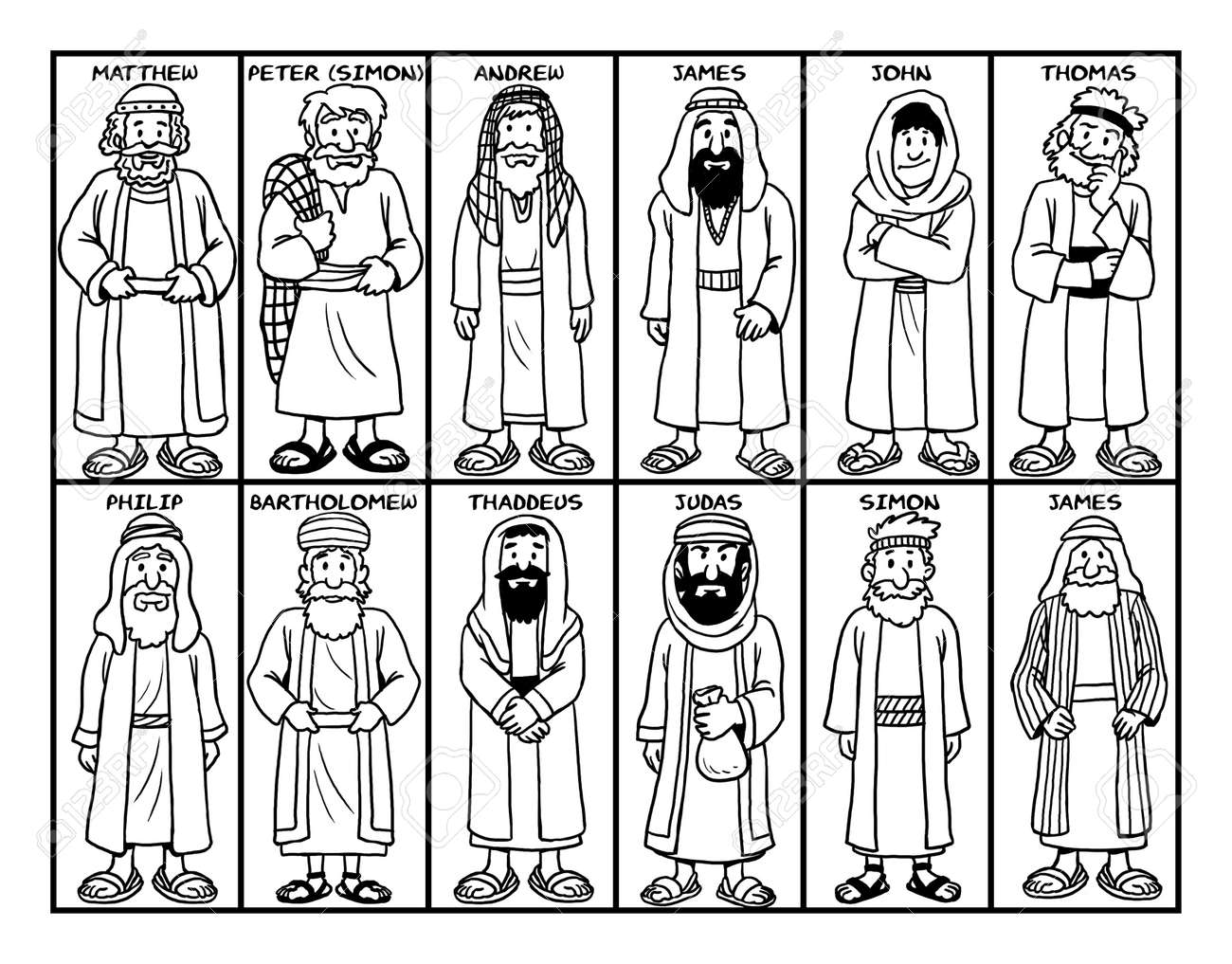 12 Disciples Coloring Sheet 100 Images 26 Beautiful Image 12 Apostles Coloring Page The 12 Disciples Coloring Icharacter The Parables Pages Are For Stories Of Jesus Nahzldylbjf Coloring Sheets Bible Activities For Club For Jesus