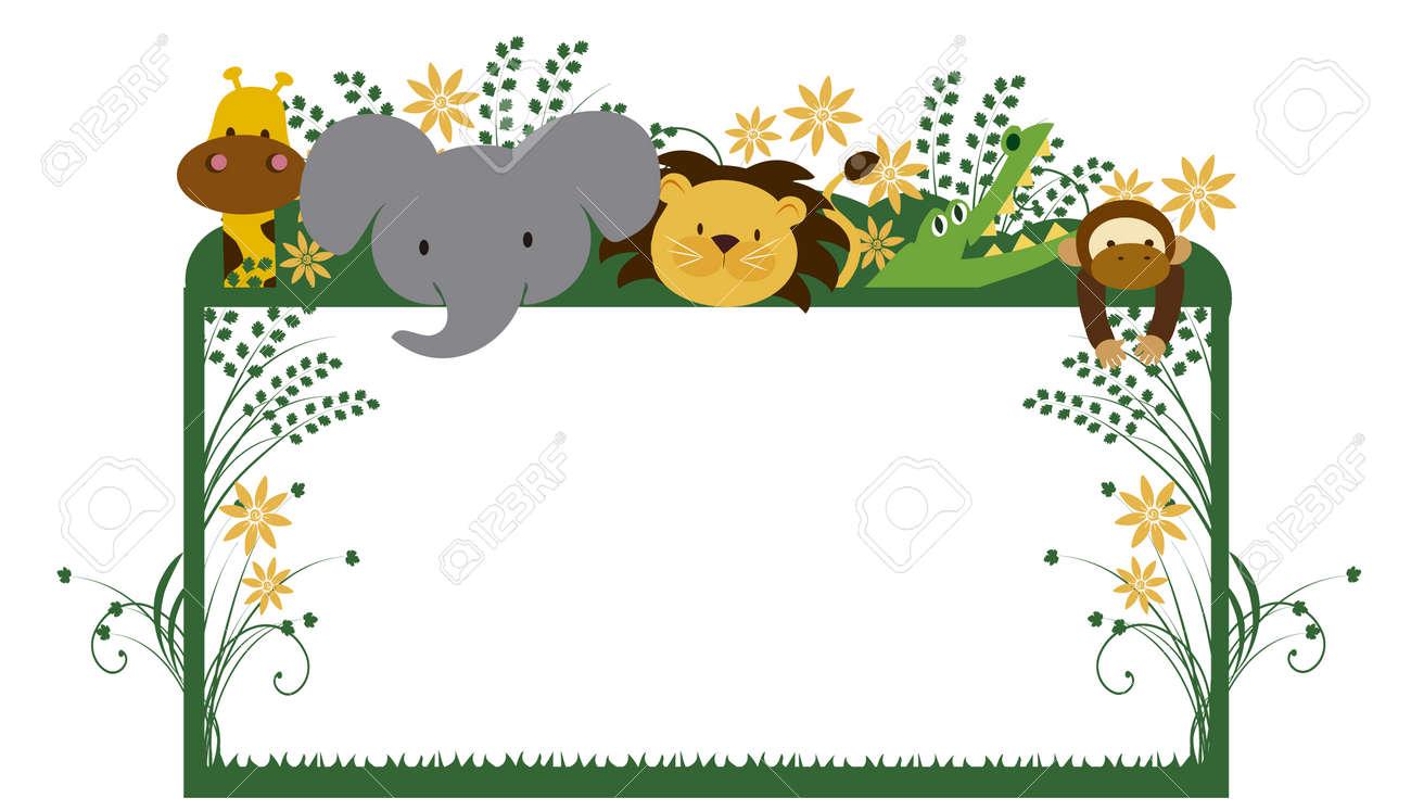 wildlife animal frame
