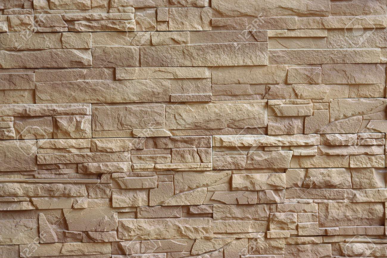 beige brick wall texture