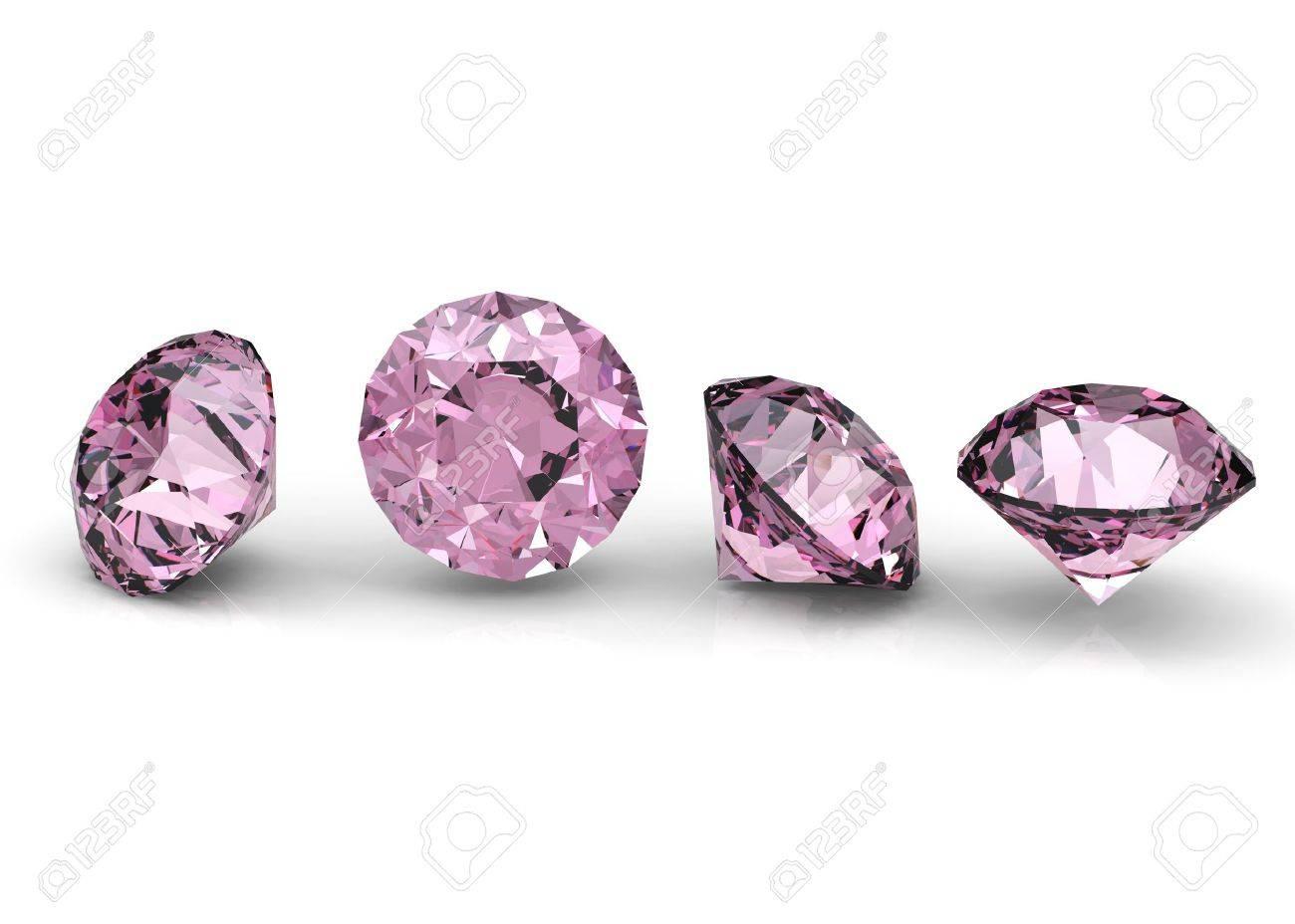 colección de diamante rosa