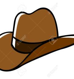 doodle illustration of a cowboy hat stock vector 36752908 [ 1300 x 928 Pixel ]
