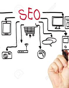 Seo flow chart on  whiteboard stock photo also picture and royalty free rh rf