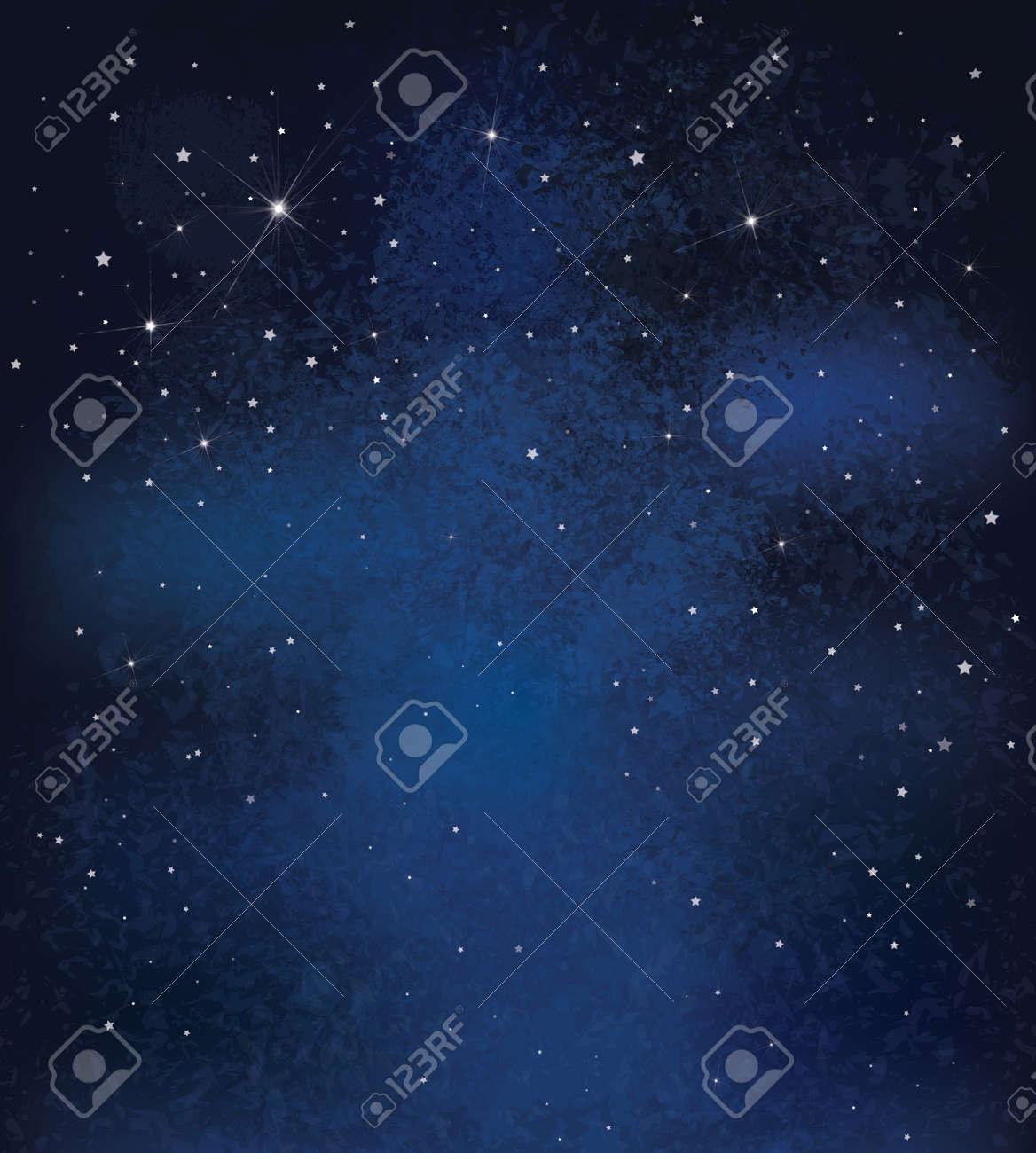 vector nuit ciel etoile fond