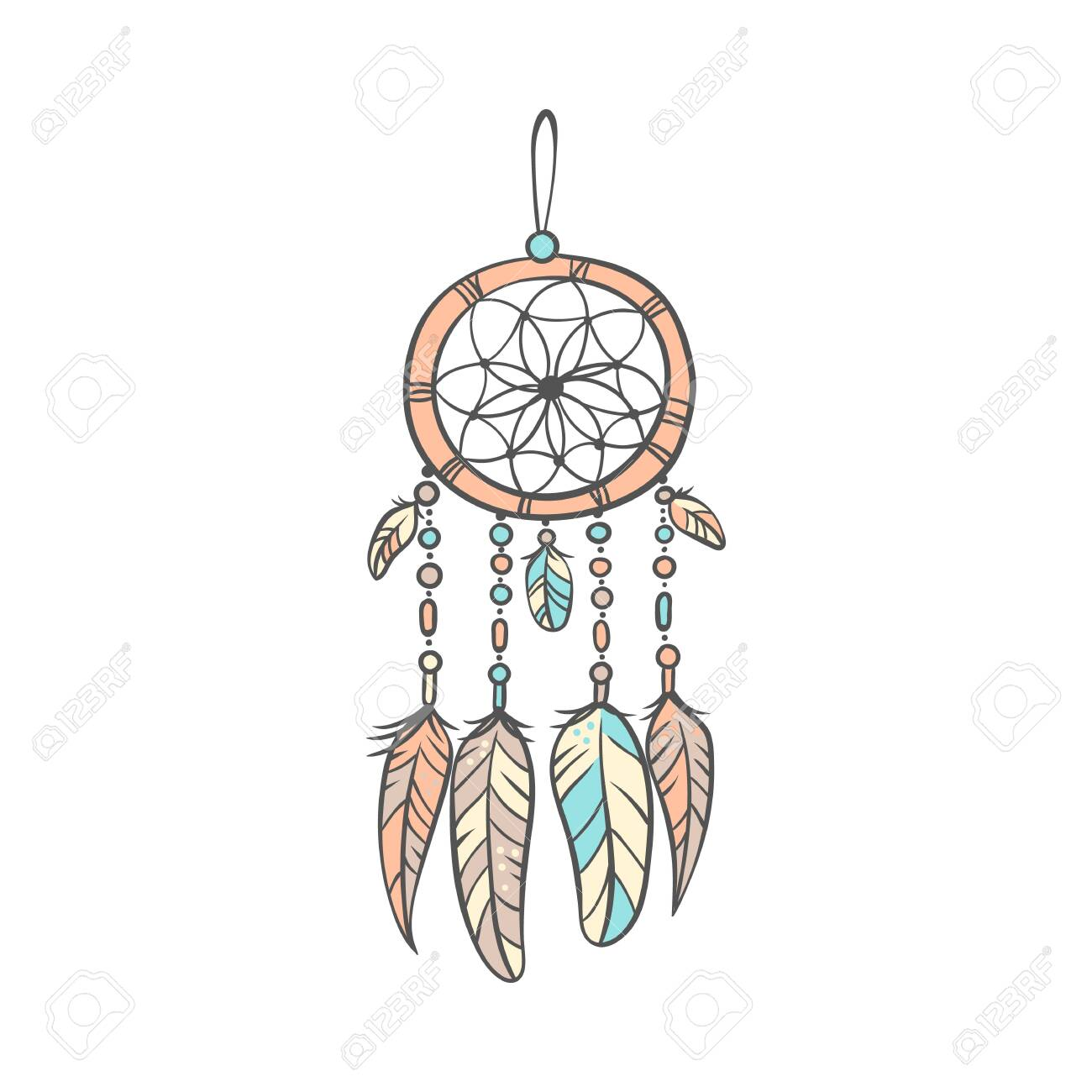 stylish decorative dream catcher
