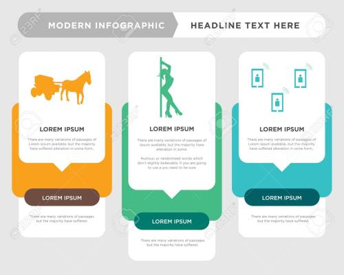 small resolution of telecom business infographic template the concept is option step with full color icon can be